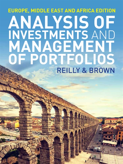 Analysis of Investments and Management of Portfolios