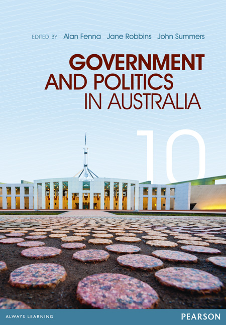 Government and Politics in Australia 10th Edition