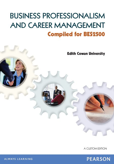 Business Professionalism and Career Management (Custom Edition)