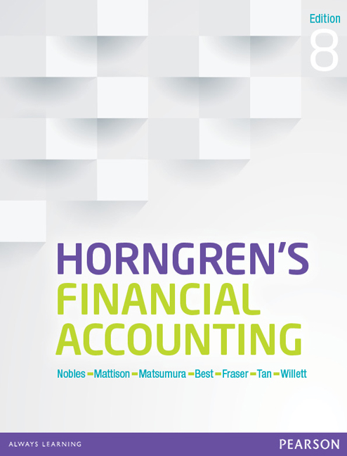 Horngren's Financial Accounting