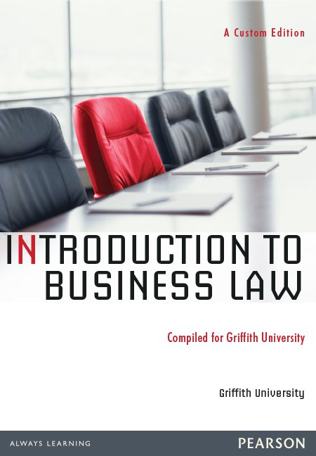 Introduction to Business Law + MyLawLab Access Code (Custom Publication)