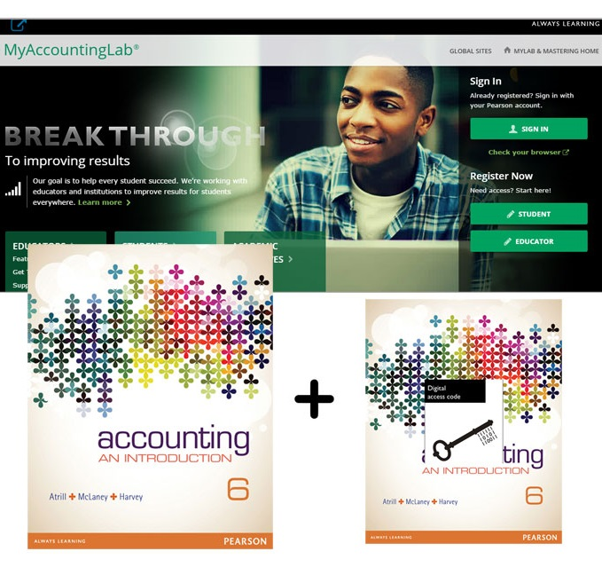 Accounting An Introduction + MyAccountingLab with eText 6th Edition