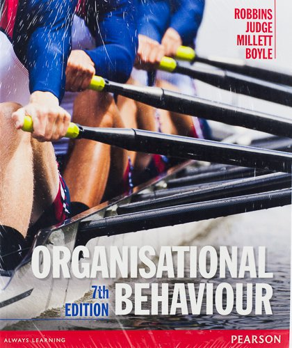 Organisational Behaviour + My ManagementLab card 7th Edition