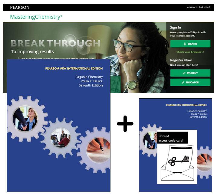 Value Pack Organic Chemistry (Pearson New International Edition) + Masteringchemistry + Etext