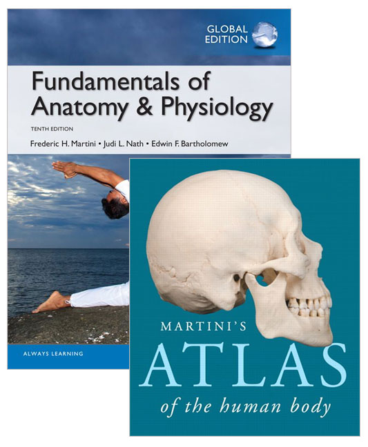 Fundamentals of Anatomy & Physiology 10th Edition + Atlas