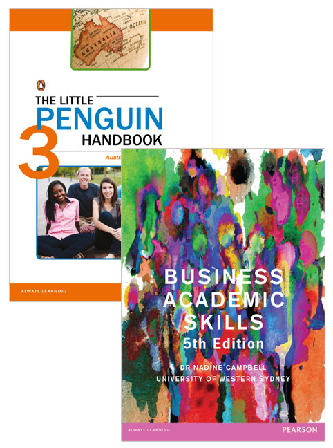 Value Pack the Little Penguin Handbook + Business Academic Skills (Custom Edition)