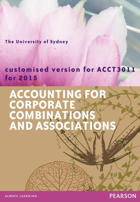 Accounting for Corporate Combinations and Associations (Custom Edition)