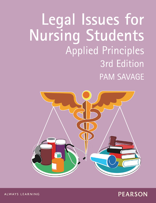 Legal Issues For Nursing Students (Pearson Original Edition)