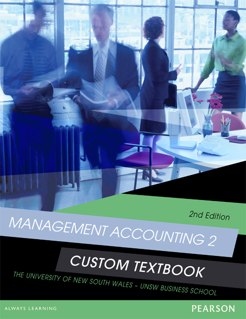 Management Accounting 2 Custom Textbook