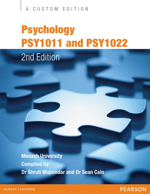 Psychology: PSY1011 and PSY1022 (Custom Edition)