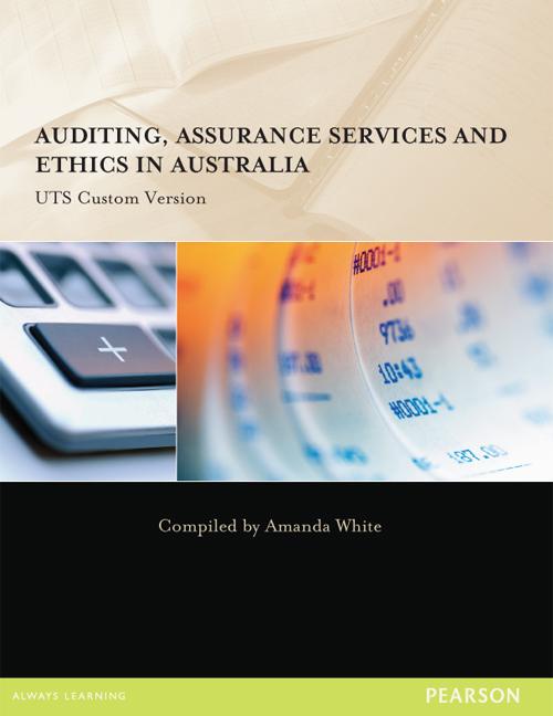 Auditing, Assurance Services & Ethics in Australia (Custom Edition)