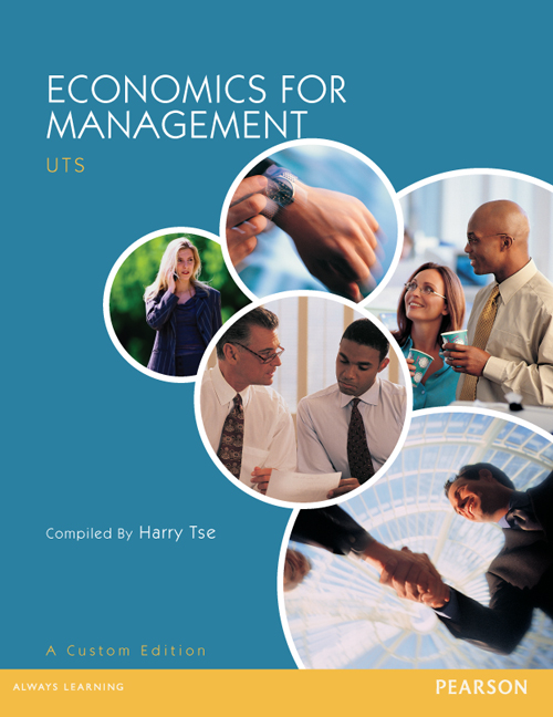 Economics For Management (Custom Edition)