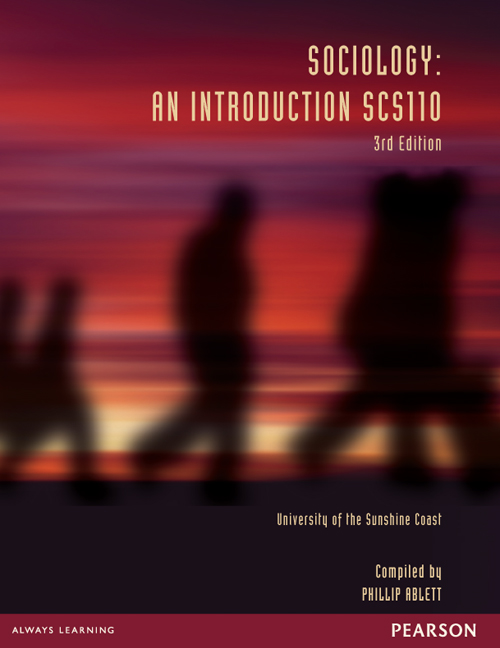Sociology: An Introduction SCS110 (Custom Edition)