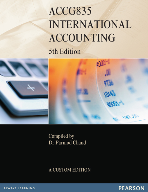 International Accounting ACCG835 (Custom Edition)