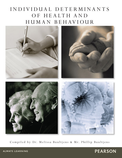 Individual Determinants of Health and Human Behavior (Custom Edition)