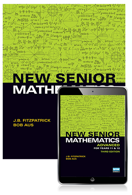 New Senior Mathematics Advanced Years 11 & 12 Student Book with eBook
