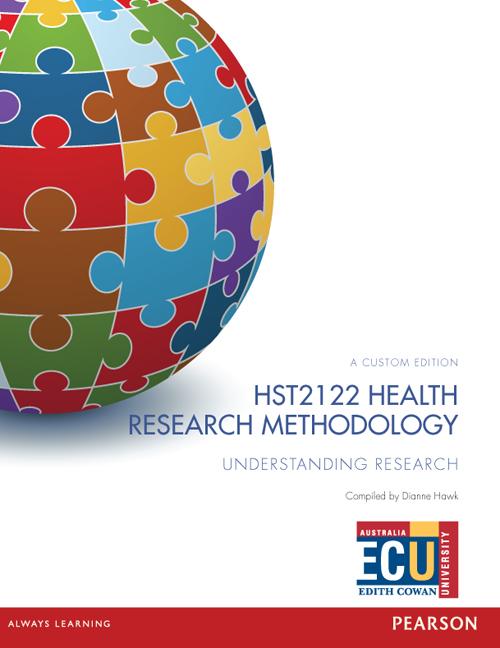Health Research Methodology HST2122 (Custom Edition)