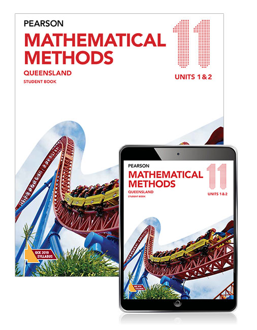 Pearson Mathematical Methods Queensland 11 Student Book with eBook