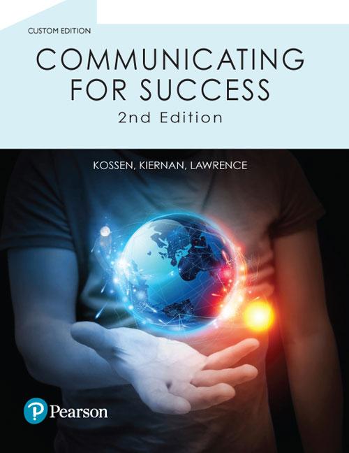 Communicating for Success (Pearson Original Edition)