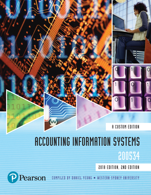 Accounting Information Systems 200534 (Custom Edition)