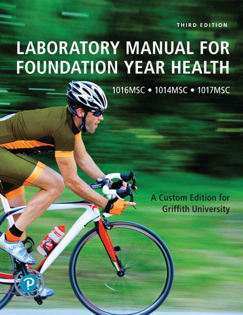 Laboratory Manual for Foundation Year Health (Custom Edition)