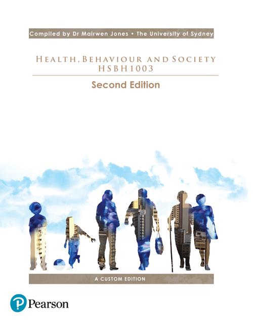 Health, Behaviour and Society HSBH1003 (Custom Edition)