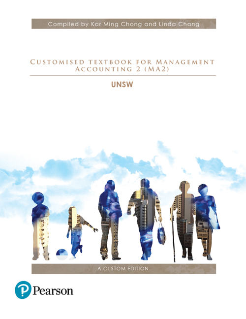 Customised Textbook for Management Accounting 2 (MA2) (Custom Edition)