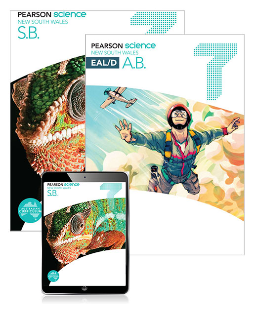 Pearson Science New South Wales  7 Student Book, eBook and EAL/D Activity Book