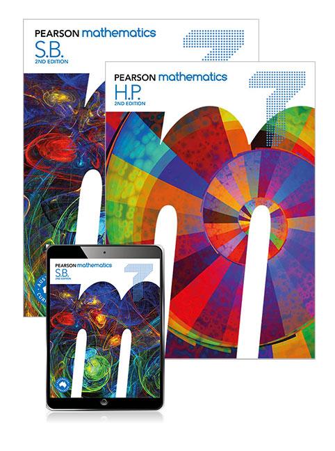 Pearson Mathematics  7 Student Book, eBook, Lightbook Starter and Homework Program