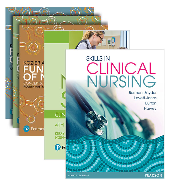 Kozier and Erb's Fundamentals of Nursing + Skills in Clinical Nursing + Nursing Student's Clinical Survival Guide