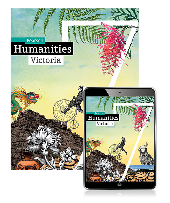 Pearson Humanities Victoria  7 Student Book, eBook and Lightbook Starter