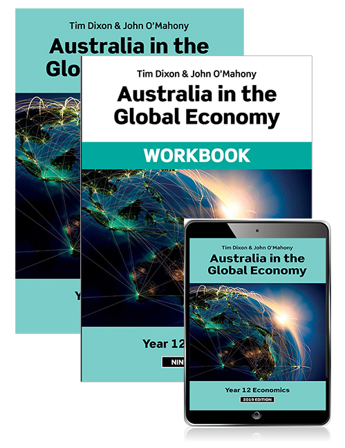Australia in the Global Economy 2019 Student Book, eBook and Workbook