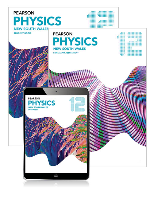 Pearson Physics 12 New South Wales Student Book, eBook and Skills & Assessment Book