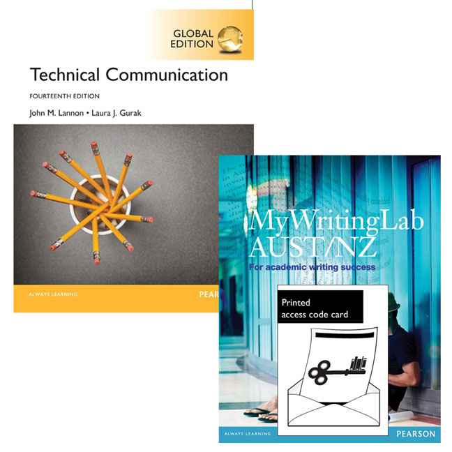 Value Pack Technical Communication Global Edition + MyWritingLab