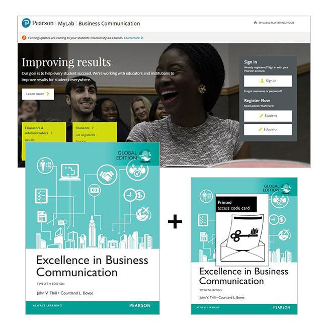 Excellence in Business Communication, Global Edition + MyLab Business Communication with eText