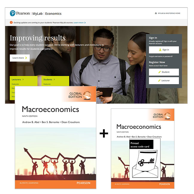 Macroeconomics, Global Edition + MyLab Economics with eText