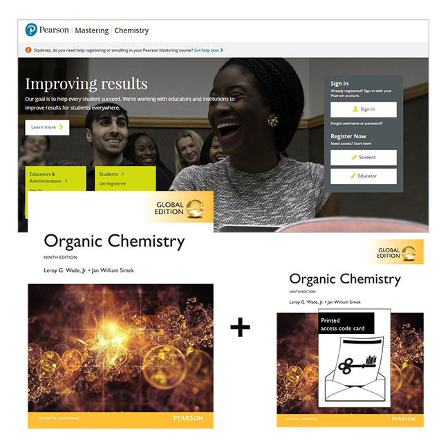 Organic Chemistry, Global Edition + Mastering Chemistry with eText