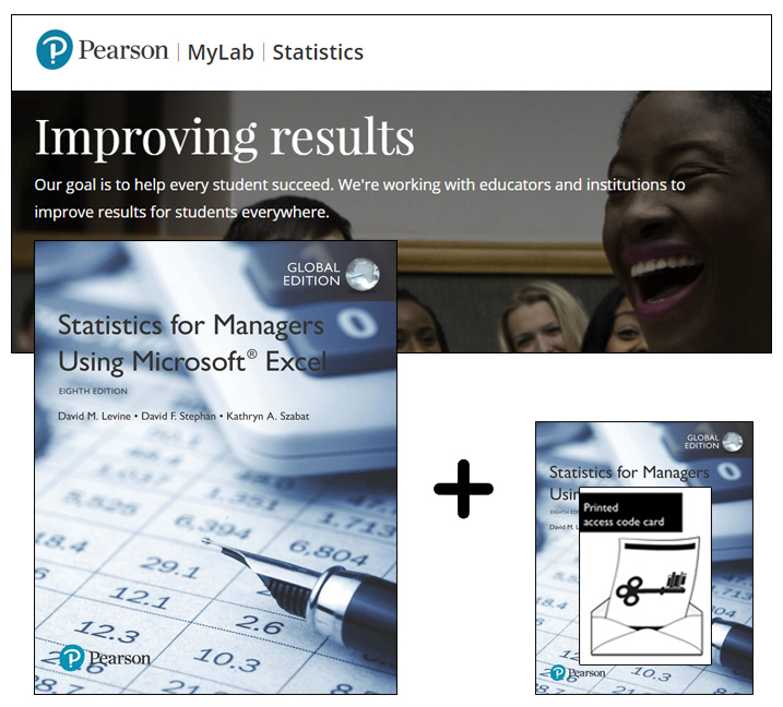 Statistics for Managers Using Microsoft Excel, Global Edition + MyLab Statistics with eText