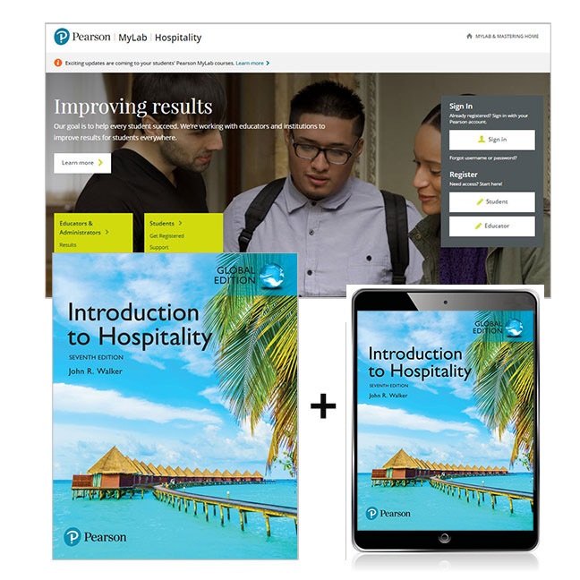 Introduction to Hospitality, Global Edition + MyLab Hospitality with eText