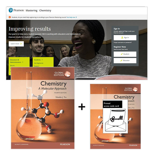 Chemistry: A Molecular Approach, Global Edition + Modified Mastering Chemistry with eText