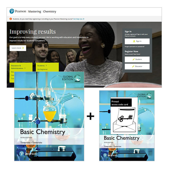 Basic Chemistry, Global Edition + Mastering Chemistry with eText