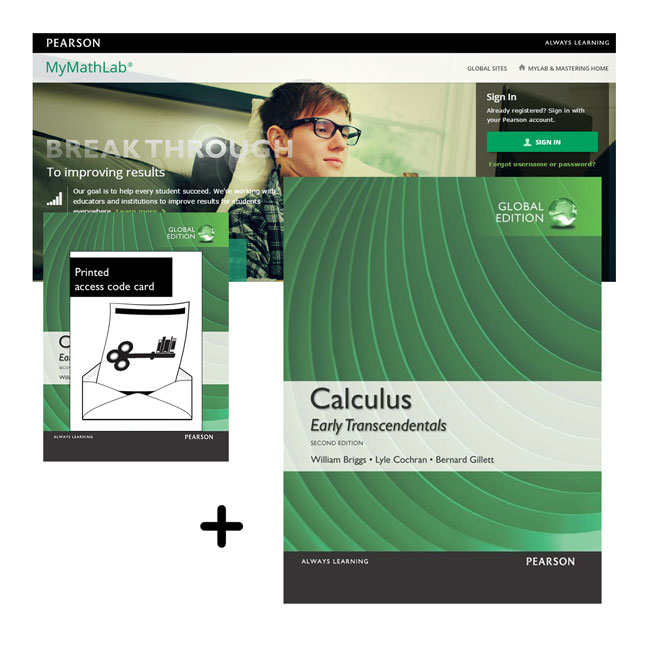 Value Pack Calculus: Early Transcendentals Global Edition + MyMathLab with eText