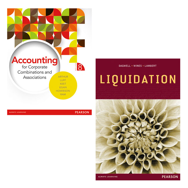Accounting for Corporate Combinations & Associations + Liquidation (Custom Edition)