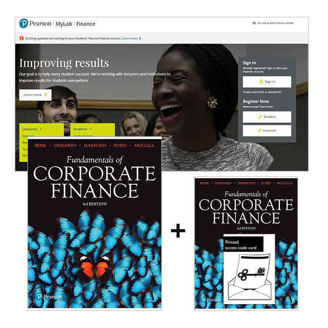 Fundamentals of Corporate Finance + MyLab Finance with eText