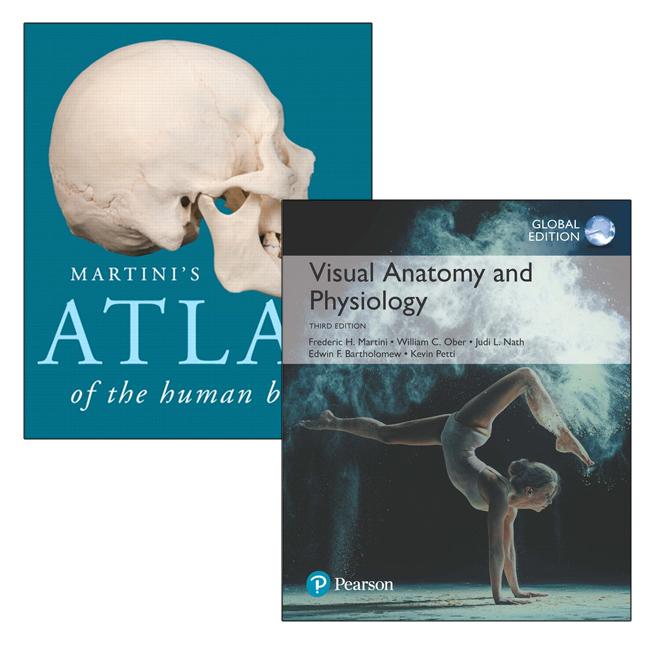 Visual Anatomy & Physiology, Global Edition + Martini's Atlas of the Human Body
