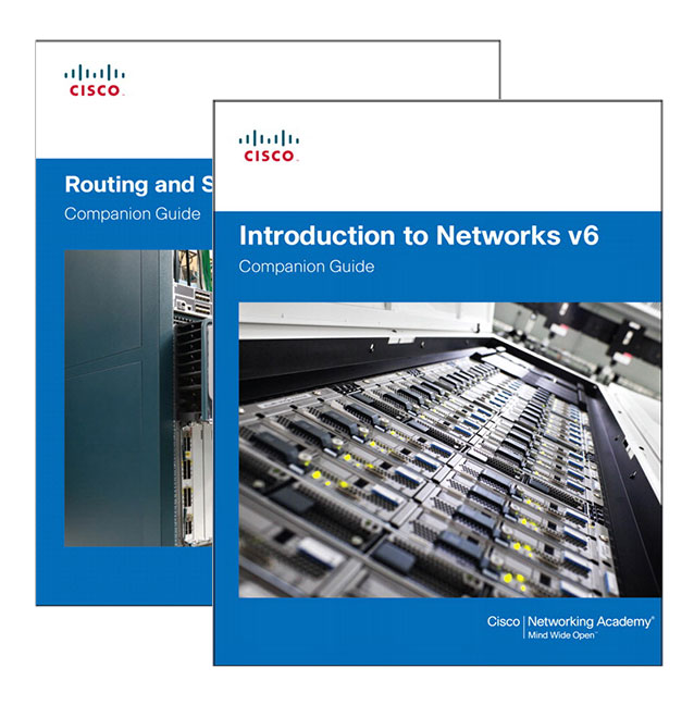 Routing and Switching Essentials v6 Companion Guide + Introduction to Networks v6 Companion Guide