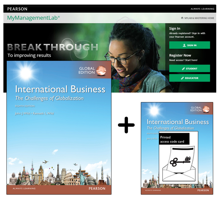 Value Pack International Business: The Challenges of Globalization Global Edition + MyManagementLab with eText