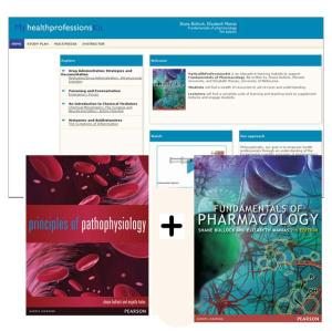 Value Pack Principles of Pathophysiology + Myhealthprofkit with Etext + Fundamentals of Pharmacology + Myhealthprofkit with Etext