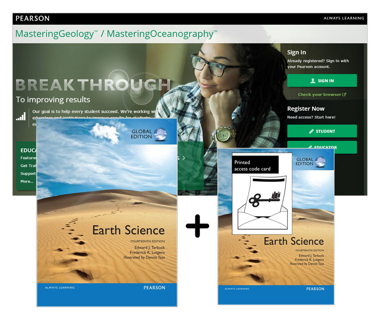 Value Pack Earth Science Global Edition + Modified MasteringGeology with eText