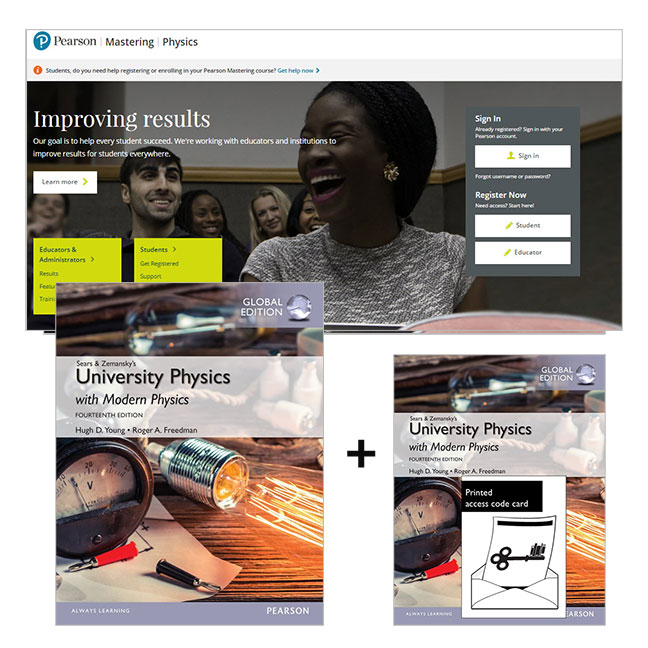 University Physics with Modern Physics, Global Edition + Mastering Physics with eText